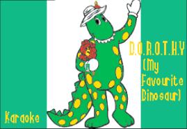 D.O.R.O.T.H.Y. (My Favourite Dinosaur) (Karaoke)