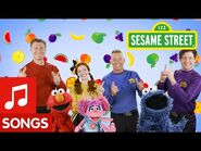 Sesame Street- Sing Fruit Salad with The Wiggles and Sesame Street!