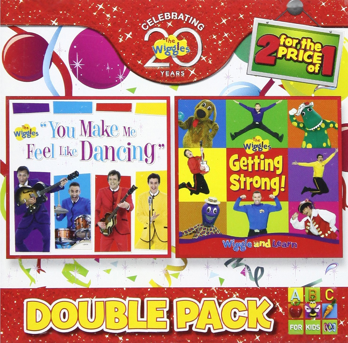Double Pack: You Make Me Feel Like Dancing + Getting Strong!