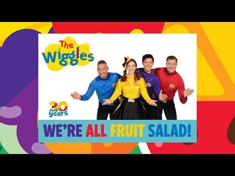 The_Wiggles-_We're_All_Fruit_Salad_💿_Album_Out_Now!_🎵_Songs_&_Nursery_Rhymes_for_Kids