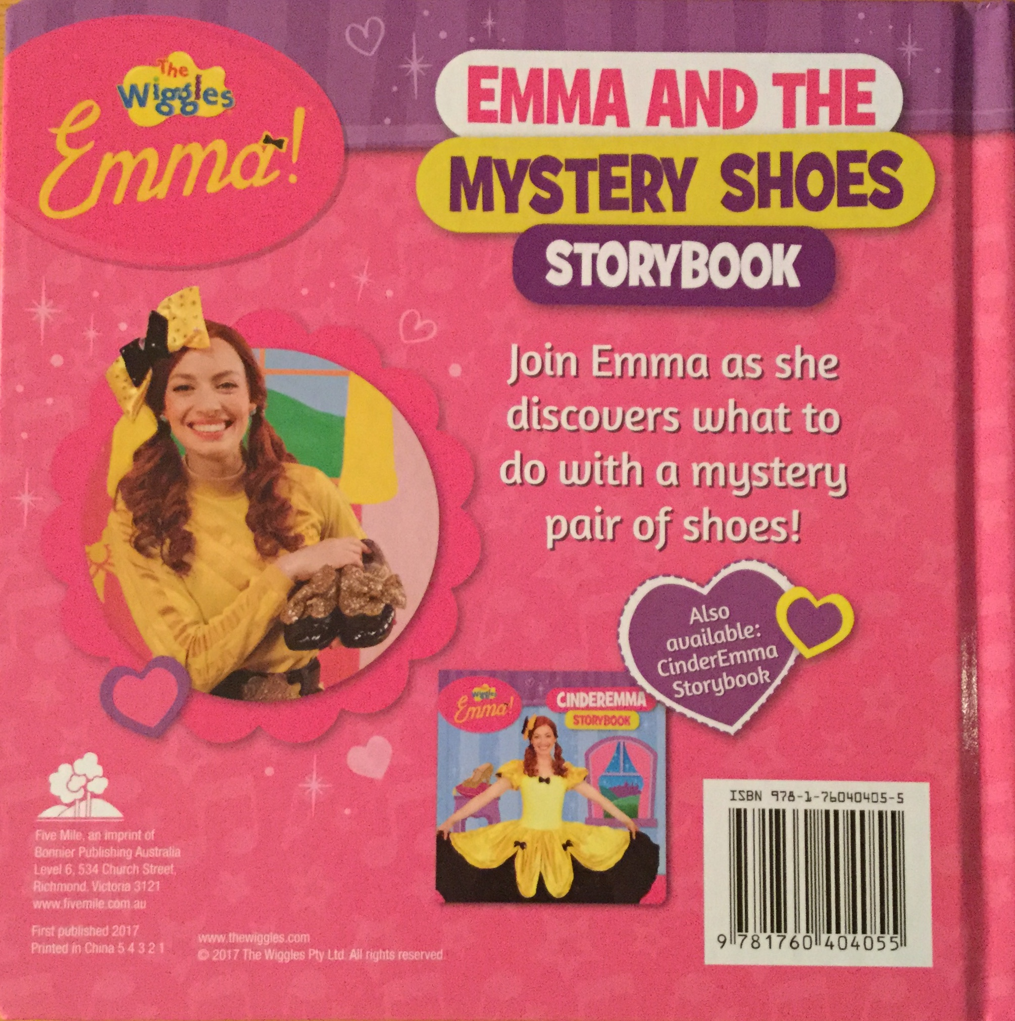 Emma and the Mystery Shoes Storybook