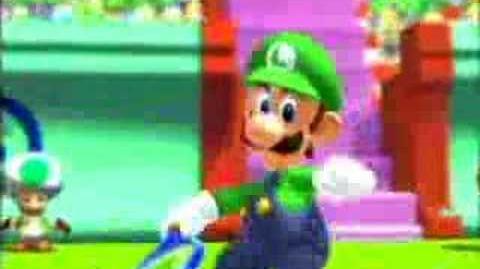 Mario Power Tennis Opening