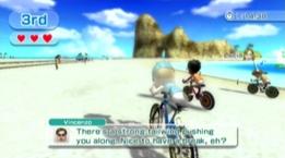 Cycling Sugarsand Beach