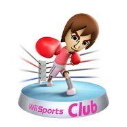 Wii sports club boxing