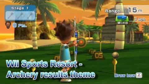Wii Sports Resort - Archery Results Theme