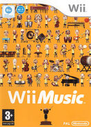 Wii Music UK cover