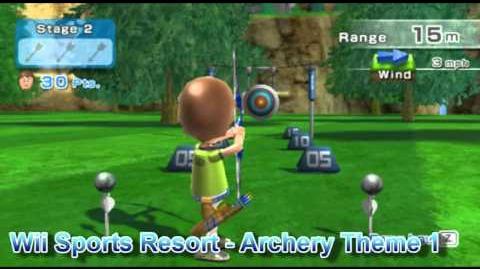 Wii Sports Resort - Archery Theme 1