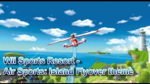 Wii Sports Resort - Air Sports Island Flyover Theme