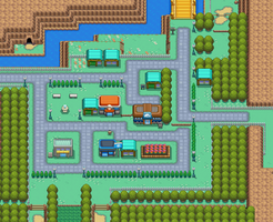 Map of Cerulean City
