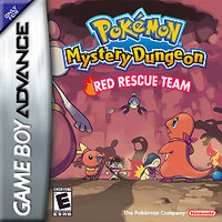 Box art for Pokémon Mystery Dungeon: Red Rescue Team