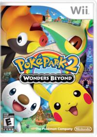 English box for PokéPark 2: Wonders Beyond