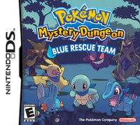 Box art for Pokémon Mystery Dungeon: Blue Rescue Team