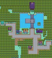 Map of Violet City
