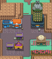 Map of Lavender Town