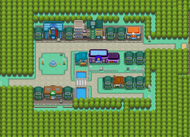Map of Celadon City