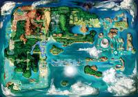 Hoenn as seen in Pokémon Emerald