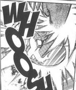 Blaziken in the Pokémon Adventures Manga.