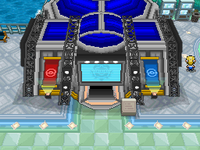 Map of pWT (Pokémon World Tournament)