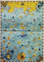 Map of the Orange Islands