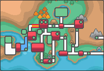Location of route 38 in Johto