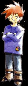 The original artwork for Blue.