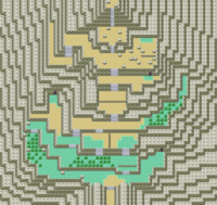 Map of mt. Ember
