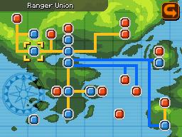 Location of ranger Union in Almia