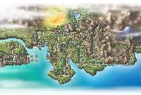 Johto as seen in Pokémon HeartGold and SoulSilver