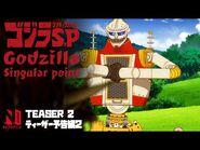 Godzilla Singular Point - Teaser Trailer 2 - Netflix Anime