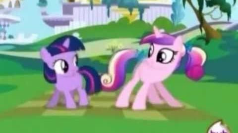 "My Little Pony Friendship is magic- Royal Wedding- ,,Sunshine""- Cadence and Twilight"
