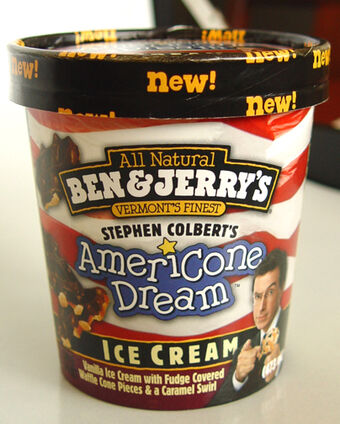Stephen Colbert S Americone Dream Wikiality Fandom You don't need to stand for me. stephen colbert s americone dream