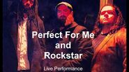 Perfect For Me and Rockstar- Elyjah Tribe & The 70s Wet Live Performance