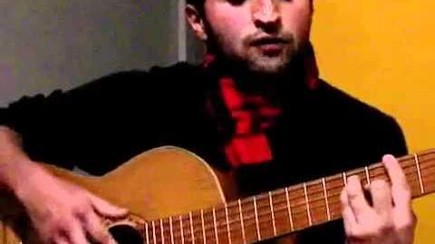 Tu callorro crist carter tocando flamenco para amigos franceses