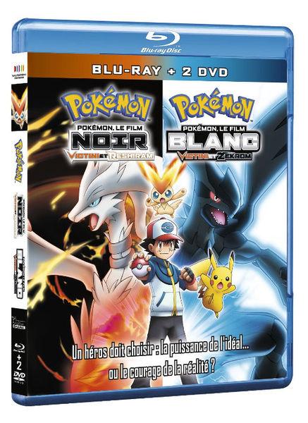 Pokémon, le film : NOIR - Victini et Reshiram / BLANC - Victini et Zekrom