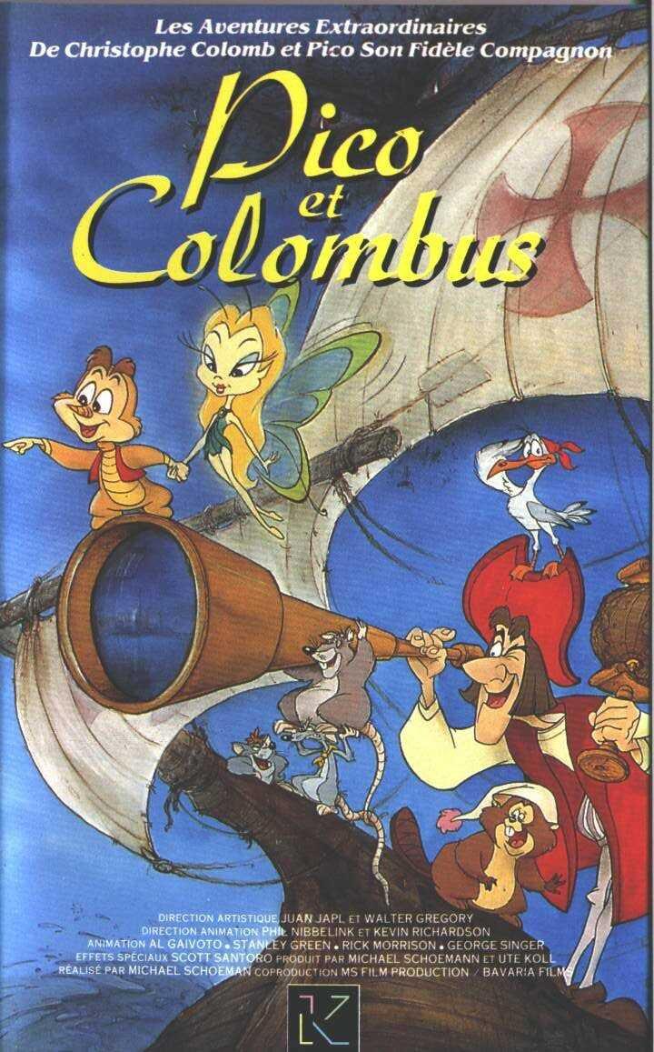 Pico et Colombus : Le Voyage magique