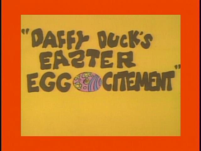 Daffy Duck : L'œuf-orie de Pâques