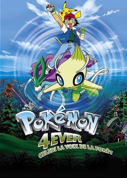 Pokémon 4Ever : Celebi, la voix de la forêt