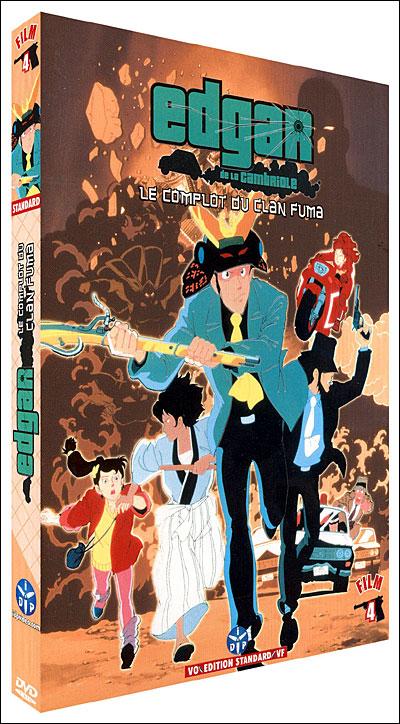 Edgar de la Cambriole : Le Complot du Clan Fuma