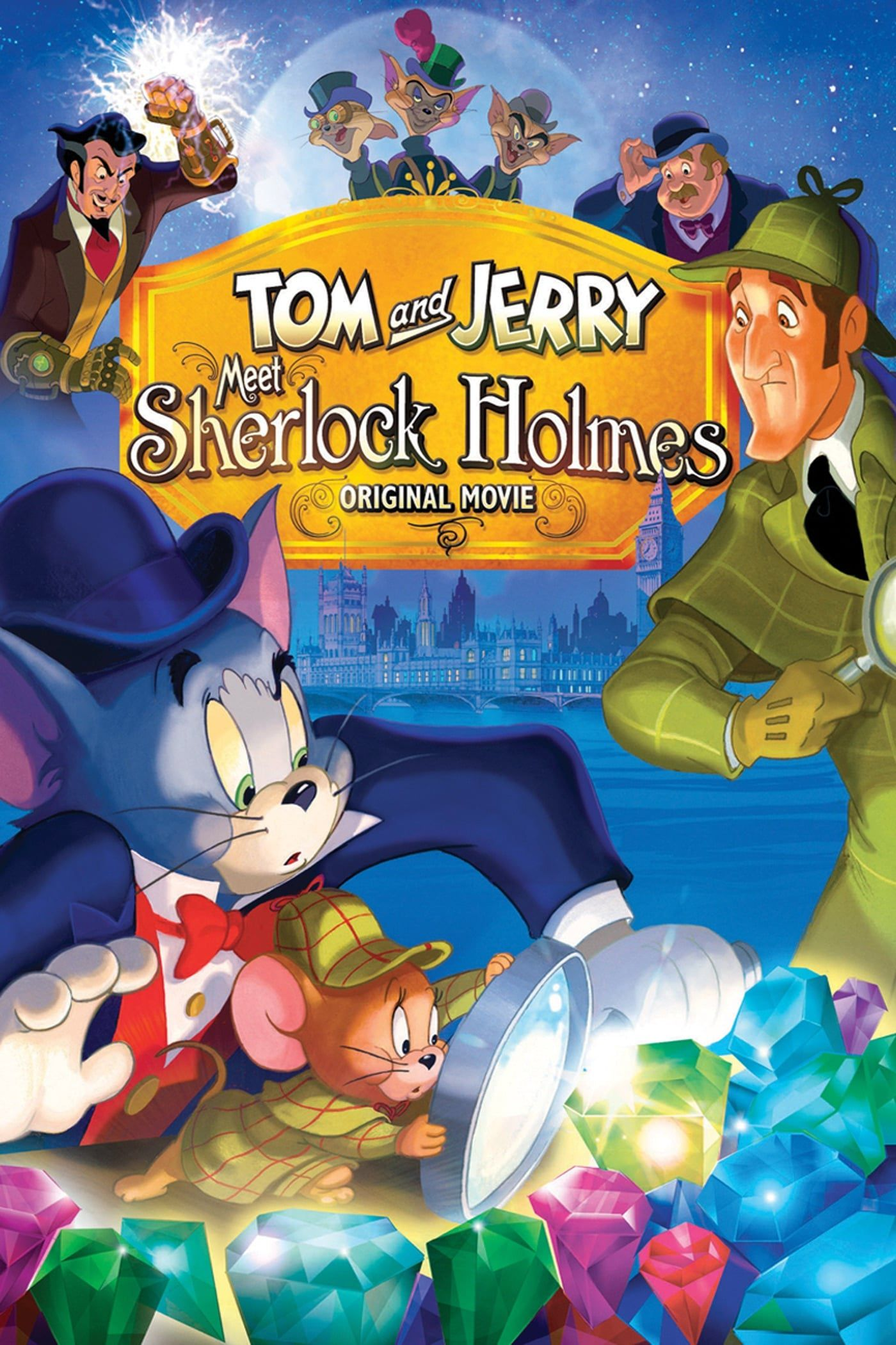 Tom et Jerry : Élémentaire, mon cher Jerry