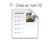 Топ-10 список