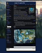 Monobook на League of Legends Wiki