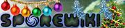 Старый новогодний логотип Spore Wiki.png