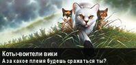 Коты-Воители Вики Баннер