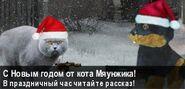 Новогодний баннер Мяунжик Вики (2)