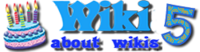 Викии Вики Лого 5 лет