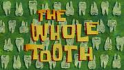 O Dente de Leite cartão de título