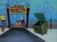 Lugar - Escola de pilotagem (entrada)