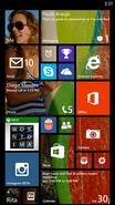 WindowsPhone8.1 Start Screen