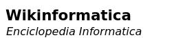 Wikinformatica Wiki