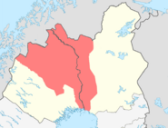MeC3A4nmaa in Norrbotten and Lapland
